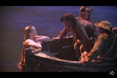 Gemma Ward as a mermaid in Pirates of the Caribbean: On Stranger Tides