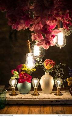 Amazing idea for reception lighting and decor! See more ideas on http://theprettyblog.com   Photographer: Adene Photography