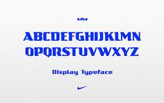 Sawdust creates dynamic typeface for LeBron James for Nike basketball