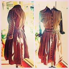 Vintage 1950's Pat Hartly Original shirtwaist dress by BopandAwe, $158.00