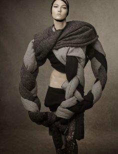 'Shape Shift' by Steven Meisel for Vogue Italia October 2014