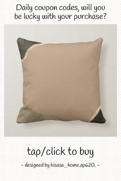 Tan Black & Gold Minimalist Abstract Throw Pillow - tap to personalize and get yours #ThrowPillow #tan, #simple #abstract #designs, #minimalist Minimalist Design, Modern Design, Accent Pillows, Throw Pillows, Abstract Designs, Home Reno, Custom Pillows, Black Gold, Your Design