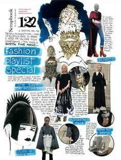 Lele Acquarone, excerpt from Vogue Italia, December 2013
