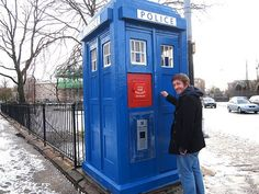 London's famous Dr Who Tardis. Dr Who Sites in London >> http://thingstodo.viator.com/london/dr-who-sites-in-london/