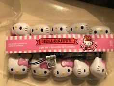 "Hello Kitty 10 String Light Set ""New"""