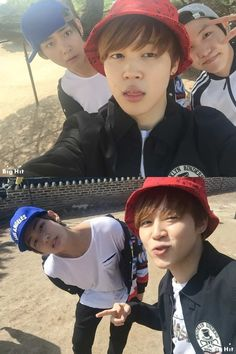 "Naver Starcast] BTS J-hope, Jimin & V - enjoying spring!  ""Namhansanseong outing"