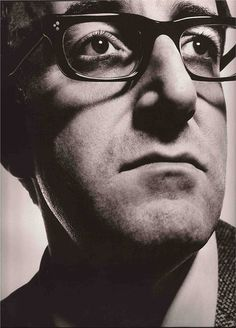 Peter Sellers, by David Bailey. Vogue 1965