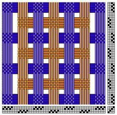 Afbeeldingsresultaat voor deflected double weave patterns