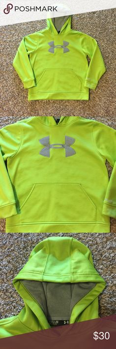 Under Armour Hoodie *** NEW WITHOUT TAGS *** NEVER WORN!!! Gender neutral, great for a boy or a girl. Fits true to size: Youth Medium. MAKE AN OFFER Under Armour Shirts & Tops Sweatshirts & Hoodies