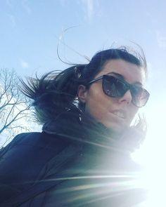 """Nasty hair today  #fashion #fashionista #fashionblogger #blogger #sunglasses #winter #nastyhair #hair #ponytail #nyfw #swag"""