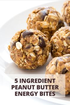 Discover recipes, home ideas, style inspiration and other ideas to try. Easy Delicious Recipes, Easy Cookie Recipes, Healthy Recipes, Simple Recipes, Popular Recipes, New Recipes, Favorite Recipes, Peanut Butter Energy Bites, Good Food