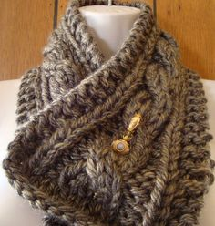 Check out this item in my Etsy shop https://www.etsy.com/listing/204212456/knit-cable-scarf-brown-scarf-womens