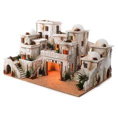 1 million+ Stunning Free Images to Use Anywhere Fontanini Nativity, Diy Nativity, Christmas Nativity Scene, Christmas Villages, A Christmas Story, Ideas Hogar, Modelos 3d, Ceramic Houses, Miniature Houses