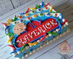Caillou Sheet Cake