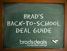 Brads Deals - links to sales