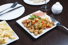 Hot Mezze - Batata Harra & Fried Vegetables (v)