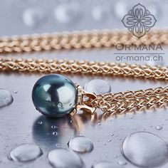 Tahiti pearl pendant. Pearl Pendant, Tahiti, Handmade Jewelry, Pearls, Pendant, Beads, Hand Print Ornament, Pearl, Handmade Jewellery