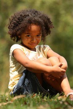Afros are... precious!  Natural hair is precious!