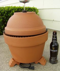 My fiance has mad cooking skills, but he doesn't have a smoker.  I wanted to make him one, but I also wanted it to be good looking in my backyard.  Wi...