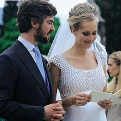 Countess Matilde Borromeo and Prince Antonius von Fürstenberg Wedding Royal Wedding Gowns, Royal Weddings, Wedding Dresses, Beatrice Borromeo, Royal Tiaras, Royal Jewels, Crown Jewels, Andrea Casiraghi, Matilda