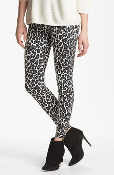 A is for animal print.