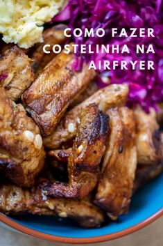 Como fazer costelinha na airfryer - Cozinha a dois Air Flyer, Pressure Cooker Recipes, Kefir, Air Fryer Recipes, Fries, Food And Drink, Low Carb, Chicken, Meat