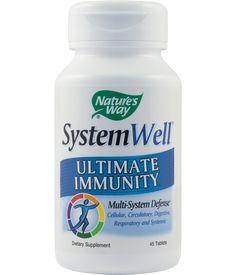 SystemWell Ultimate Immunity - Pentru un sistem imunitar puternic. Întăreşte toate componentele sistemului imunitar.