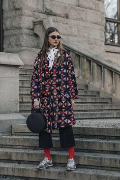 OSLO RUNWAY 2018 Fall/Winter Street Style : 네이버 블로그