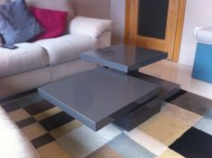 Multi-configuration Rotating Coffee Table--wow, just wow. Not crafty enough for this, yet...