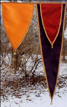 Banners/ flags/ bunting/ coat of arms Medieval Crafts, Medieval Party, Medieval Castle, Medieval Fantasy, Renaissance Wedding, Renaissance Fair, Larp, Medieval Banner, Wedding Flags