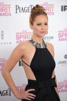 Jennifer Lawrence in Lanvin at the Independent Spirit Awards