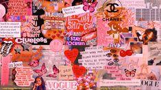 Pink Wallpaper Laptop, Cute Desktop Wallpaper, Aesthetic Desktop Wallpaper, Macbook Wallpaper, Iphone Background Wallpaper, Retro Wallpaper, Computer Wallpaper, Pink Laptop, Cute Wallpapers
