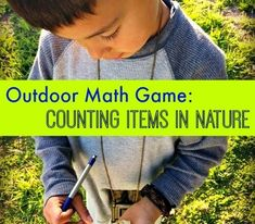 Outdoor Math Game: Counting Items in Nature - GoExploreNature.com