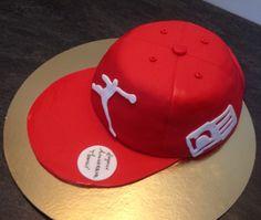 #birthday #cake #casquette #Jordan