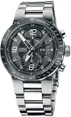 679 7614 41 64 MB NEW ORIS WILLIAMS F1 TEAM CHRONOGRAPH MENS WATCH     Usually ships within 8 weeks - Click to view IN STOCK Luxury Watch Sale - FREE Overnight Shipping - NO SALES TAX (Outside California)- WITH MANUFACTURER SERIAL NUMBERS- Black Dial- Chronograph Feature- Self Winding Automatic Movement- Exhibition Sapphire Crystal Case Back - 3 Year Warranty- Guaranteed Authentic- Certificate of Authenticity- Scratch Resistant Sapphire Crystal- Polished with Brushed Steel Case