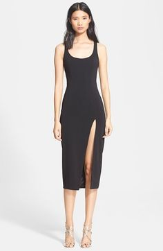 Jay Godfrey 'Witherspoon' Tank Midi Dress available at #Nordstrom