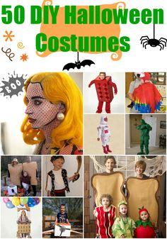 50 DIY Halloween Costumes