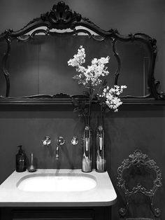goth bathroom