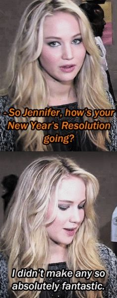 JLAW's New Years resolution