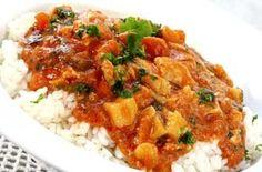 Skinny chicken tikka masala with fragrant rice recipe