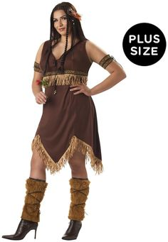 PartyBell.com - Sexy Indian Princess Adult Plus #Costume #thanksgiving