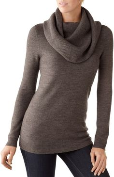 909690c8cfd Smartwool Cascade Creek Cowl Neck Sweater Cowel Neck Sweater