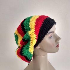 Boina de crochê com fio de lã. Really Sorry, Crochet Hats, Beanie, Fashion, Wool Yarn, Craft, Knitting Hats, Moda, Fashion Styles