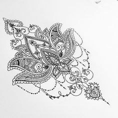 Lotus back piece for Cheldon (ALL DESIGNS ARE SUBJECT TO COPYRIGHT) #mandala… …
