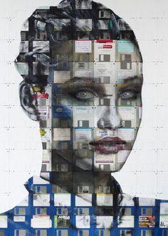 Disk Art by Nick Gentry