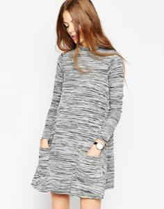 ASOS+Swing+Dress+with+Pockets+in+Space+Dye