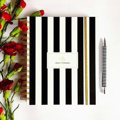 Classical stripes! personalized 2016/17 planners  you can order it on my Etsy. Info in my bio  shipping worldwide! #lady2 #design #stationery #madetoplan #planner #planning #planneraddict #plannerlove #elegant #style #calendar #gift #art #artist #polishgirl #poland #warsaw #polishboy #custom #journal #model #fashionblogger #instagood #instadaily #photooftheday #2016planner