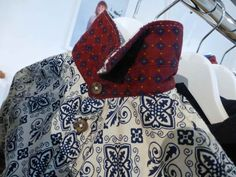 Cool print combinations on boyswear shirts at M fall 2013 collections