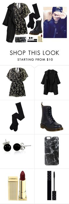 """""""Mark's ideal type (fall)"""" by got7outfits ❤ liked on Polyvore featuring Miss Selfridge, Chicnova Fashion, Dr. Martens, Bling Jewelry, Casetify, Lipstick Queen and Gucci"""