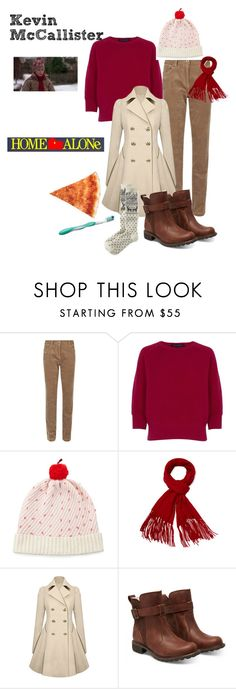 """Kevin McAllister - Home Alone"" by ashleigh-kuzio on Polyvore featuring Dash, French Connection, Kate Spade, Magaschoni, Timberland, Old Navy and Colgate"